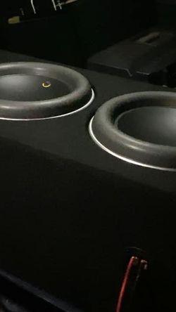 JL AUDIO 2 12 W7 V3 AE W/ 2 SLASH 1200v3 for Sale in Fremont,  CA
