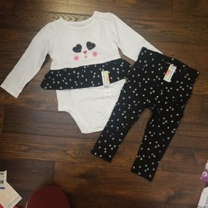 2-piece Set 24 Mos Clothes For Girls. Brand New With Tag $5 for Sale in Hayward, CA