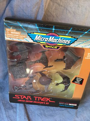 Star Trek Limited Edition Collectors Set (Micro Machines) for Sale in Huntington Beach, CA