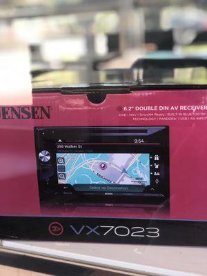 Jensen 6.2 VX7023 Double Din for Sale in Elsmere, DE