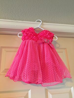 Infant pink dress for Sale in Peyton, CO