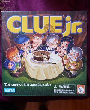 Clue Jr. Family Board Game for Sale in Las Vegas, NV