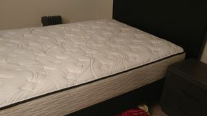Queen bed, headboard and frame for Sale in Tacoma, WA