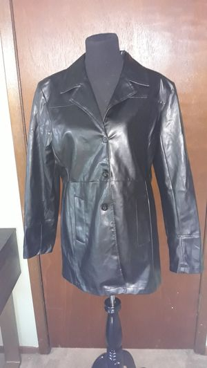 FAUX LEATHER JACKET SZ XL for Sale in Newton, KS