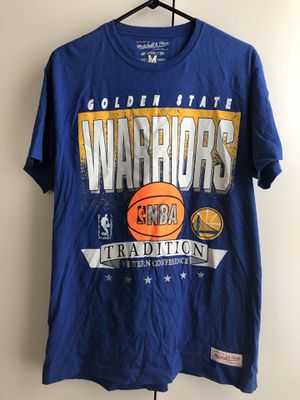 Mitchell and Ness Warriors Tee for Sale in Virginia Beach, VA