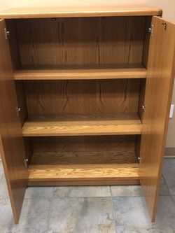 Storage Shelf Unit with Doors for Sale in Los Alamitos,  CA