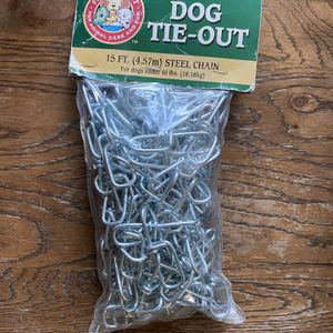 Dog tie out chain for Sale in Garden Grove, CA