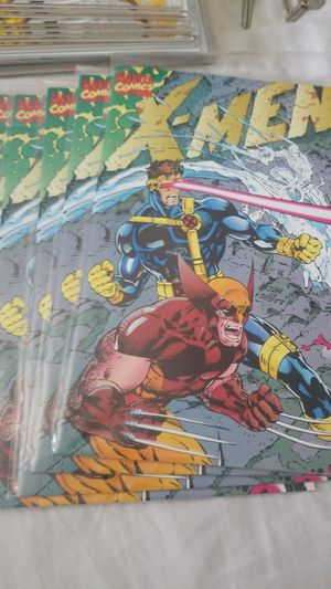 Xmen #1 gatefold Jim Lee cover lot #2 of 5 books $15 for all! for Sale in Los Angeles, CA