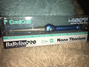 BaByliss curly iron brand new !! for Sale in Dallas, TX