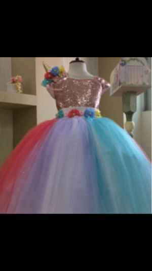 Unicorn dress for Sale in Chula Vista, CA