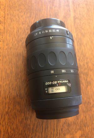 Pentax 80-200 lens. for Sale in Greenacres, WA