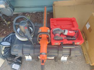 Big Joe box and tool of assorted tools and equipment for Sale in Oak Harbor, WA
