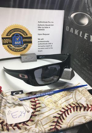 Oakley Sunglasses Batwolf Polished Black w/ Black Iridium Philadelphia Phillies Lenses OO9096-48 for Sale, used for sale  Rancho Cucamonga, CA