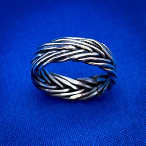 Braided silver ring - size 10 for Sale in Mount Prospect, IL