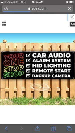 CAR INSTALLATIONS for Sale in Turlock, CA