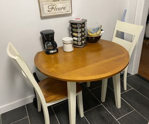 Table with 2 chairs - perfect for small spaces! for Sale in Queens, NY