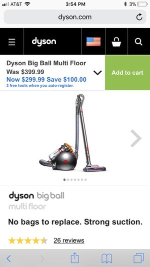 Dyson vacuum never opened for Sale in Royal Palm Beach, FL