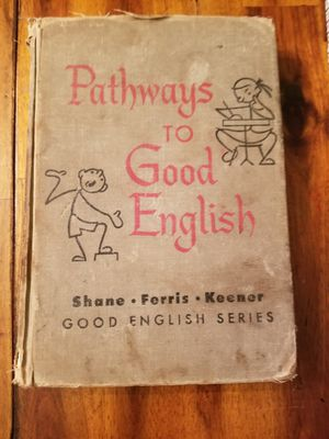 Vintage Grade-School Grammer Textbook for Sale in Richland, WA