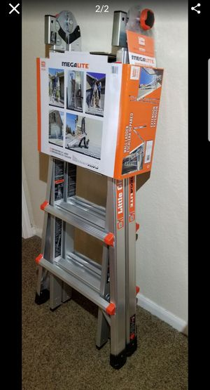 Little Giant 17 ft. H Aluminum Extension Ladder Type IA 300 lb. (NEW!!!) for Sale in Spring, TX