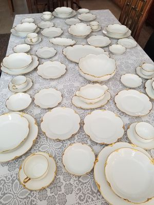 Antique China - serves 7 with cups / 8 without for Sale in Henderson, NV