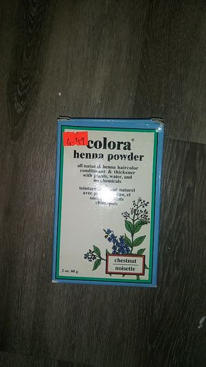Colora henna powder for Sale in Boston, MA