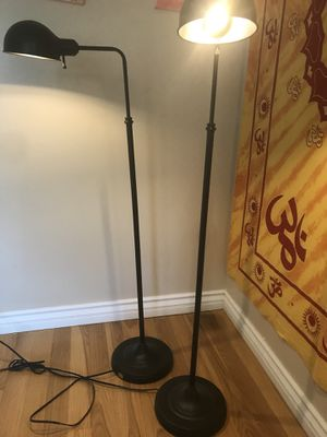 1 floor lamps stylish and excellent condition for Sale in Santa Monica, CA