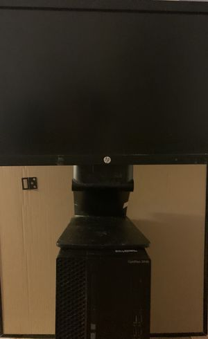Computer Dell OptiPlex 3046 Desktop Computer with Monitor for Sale in West Covina, CA