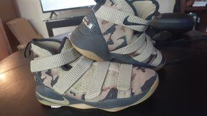 Lebron Camo Nike Shoes for Sale in Spokane, WA