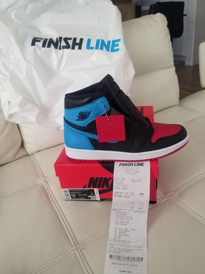 Jordan 1 Unc to Chicago Size 12 w size 10.5 m for Sale in Long Beach, CA