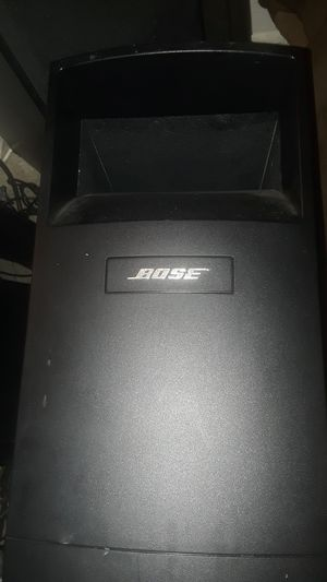 Bose acoustimass 6 surround sound speaker system for Sale in Phoenix, AZ