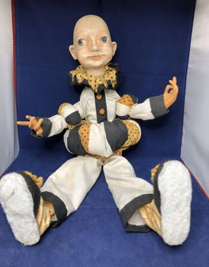 "Creepy Clown Doll - Posable 23"" tall when standing for Sale in New Holland, PA"