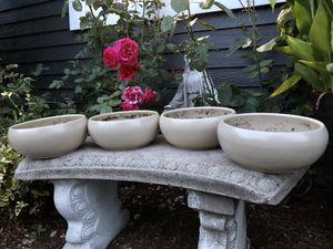 "**PENDING** Succulent/bonsai planters 10""Wx4""H for Sale in Snohomish, WA"