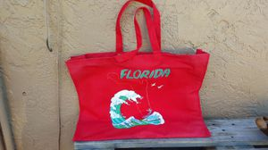 Beach bag Red large for Sale in West Palm Beach, FL