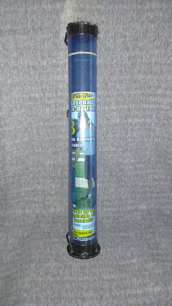 Baseball pick-up tube