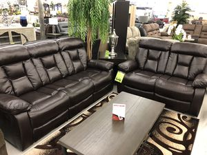 2 pc reclining sofa & loveseat for Sale in Fresno, CA