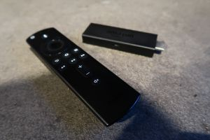AMAZON FIRE TV STICK (gen.2) w/ REMOTE controller & power cable for Sale in Seattle, WA