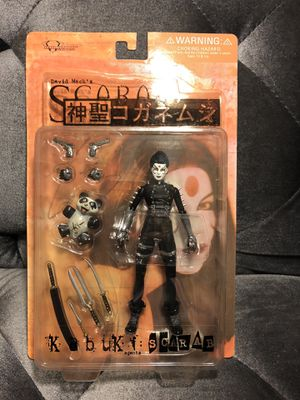 David Mack's Kabuki Scarab Action Figure New for Sale in Fresno, CA