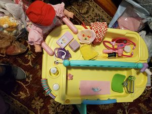 Adorable doll center loaded with fine accessories doll is brand new for Sale in Somerset, MA