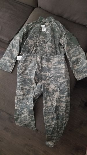 Never worn ACU Camo fatigues (large) for Sale in MIDDLE CITY WEST, PA