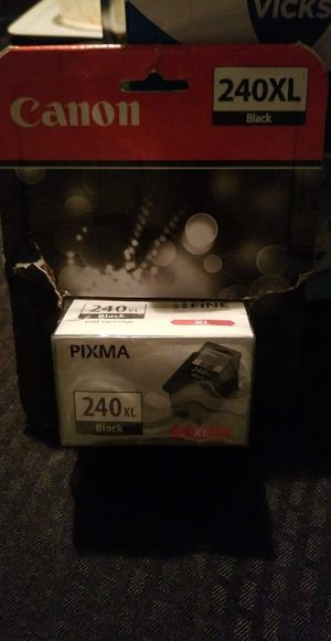 Canon black ink 240xl for Sale in Tulare, CA