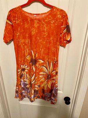 Bright summer dress / long shirt for Sale in Harlingen, TX