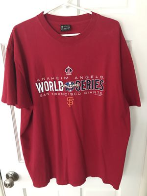 San Francisco Giants/Anaheim Angels World Series Shirt for Sale in Pacific Grove, CA
