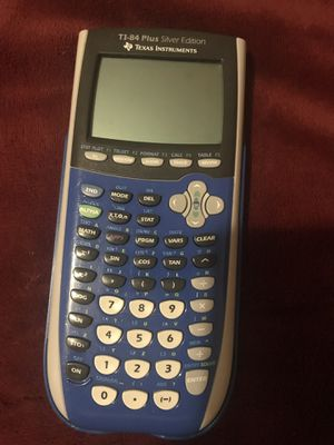 TI-84 Plus Silver Edition Texas Instruments for Sale in Richmond, VA