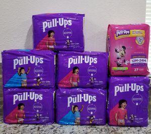 Huggies Pull Ups for Sale in Pasadena, TX