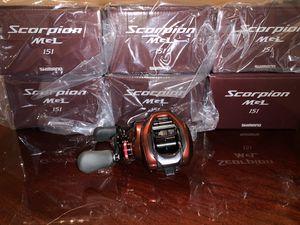 Shimano Scorpion MGL Baitcasting fishing reel (Left) for Sale in Houston, TX