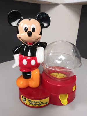 1986 Mickey Mouse gumball machine for Sale in Gaithersburg, MD