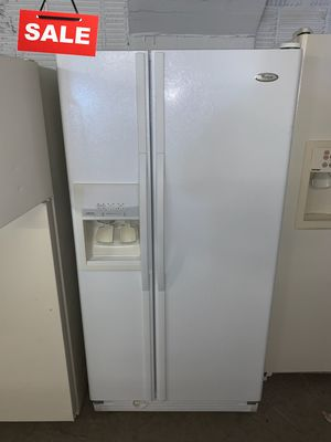 🚀🚀🚀Delivery Available Refrigerator Fridge Whirlpool Side by Side #1358🚀🚀🚀 for Sale in Jessup, MD