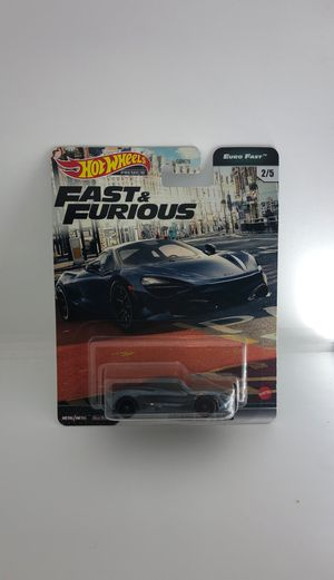 Hot Wheels Euro Fast & Furious Premium McLaren 720S Gray w/ Real Riders for Sale in Cypress, CA