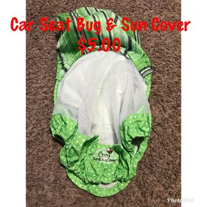 Car seat Bug and sun cover for Sale in Amarillo, TX