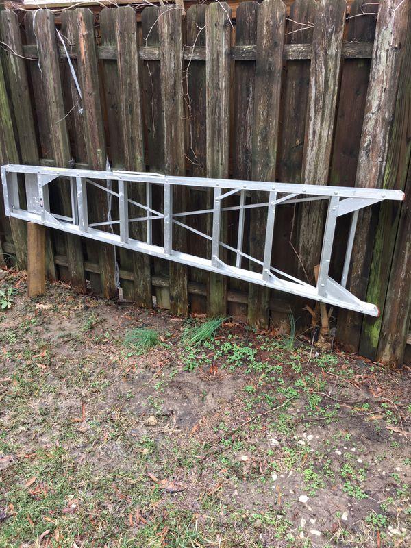 8 pies escalera de aluminio perfectas condiciones